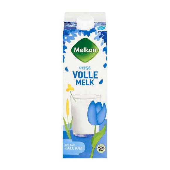 Melkan Volle melk product photo