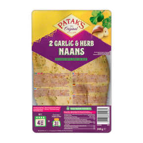 Patak's Naanbrood knoflook product photo