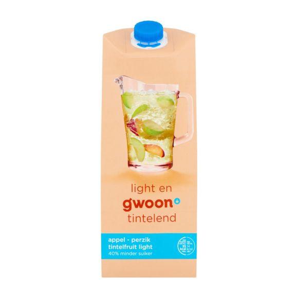 g'woon Tintelfruit appel perzik light product photo