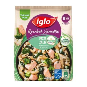Iglo Roerbaksensatie Zalm Boursin product photo
