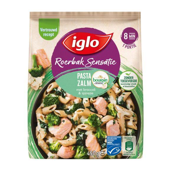Iglo Roerbaksensatie Zalm Boursin product photo