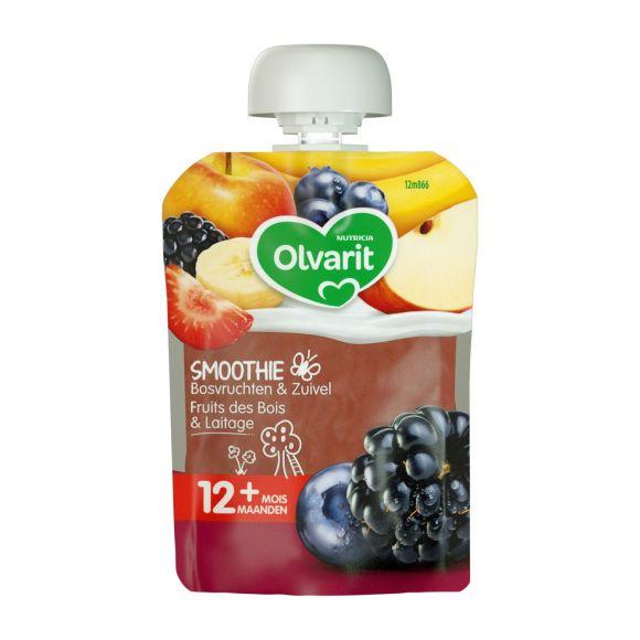 Olvarit Friends knijpfruit bosvruchten yoghurt product photo