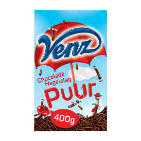 Venz Chocoladehagel puur product photo