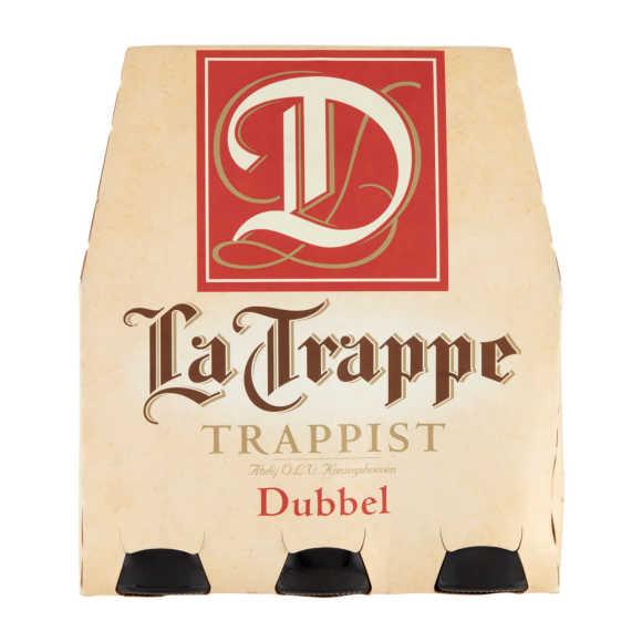 La Trappe Dubbel trappistenbier fles 6 x 30 cl product photo