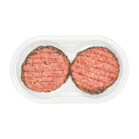 Hamburger pittige peper product photo