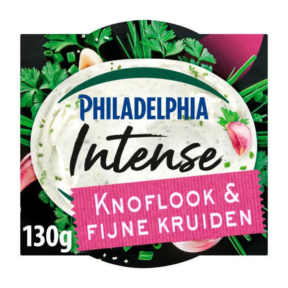Philadelphia Intense roomkaas knoflook & fijne kruiden product photo