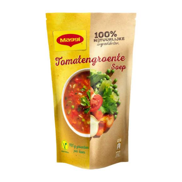 Maggi Soep in zak tomaat groente product photo