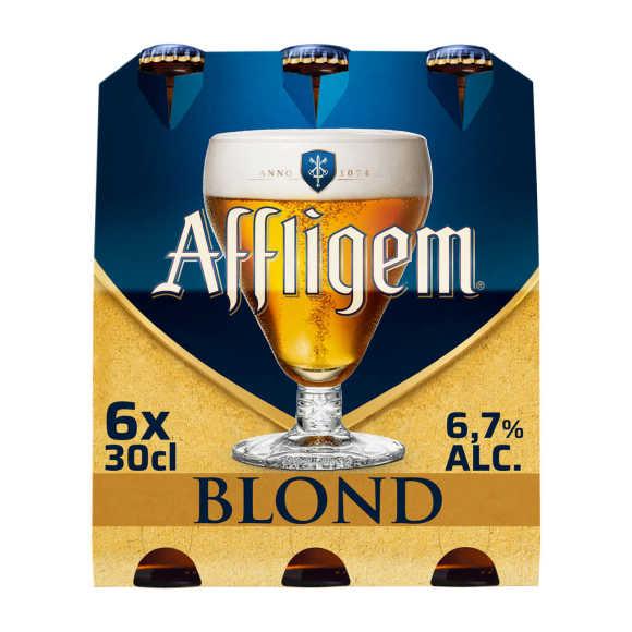 Affligem Blond bier fles 6x30cl product photo