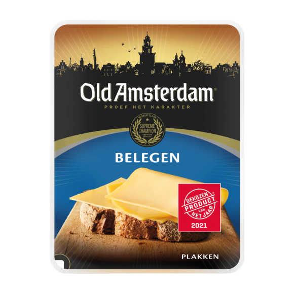 Old Amsterdam Belegen plakken product photo