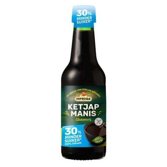 Inproba Ketjap manis 30% minder suiker product photo