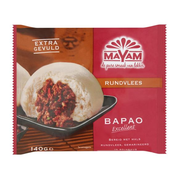 Mayam Bapao rundvlees product photo