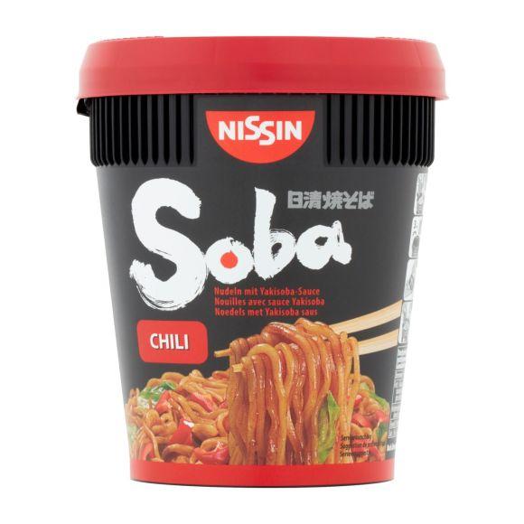 Nissin Soba chili product photo