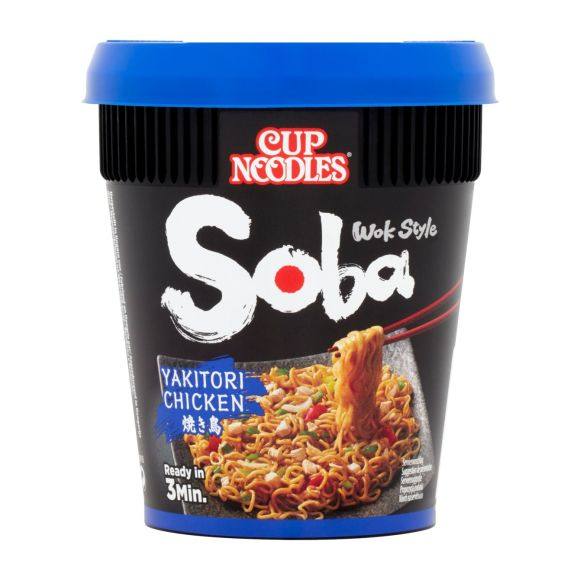 Nissin Soba yakitori chicken cup product photo