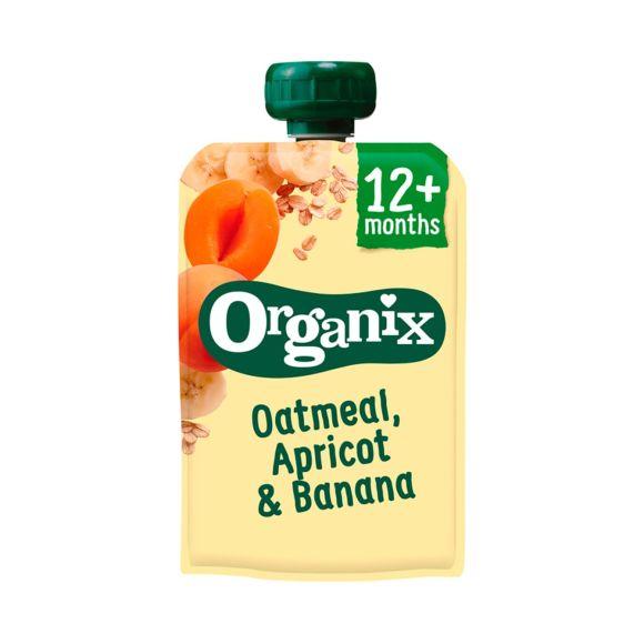 Organix Just oatmeal & apricot product photo
