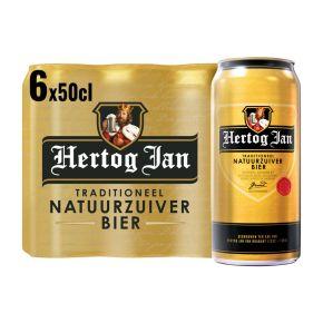 Hertog Jan Bier blik 6 x 50 cl product photo
