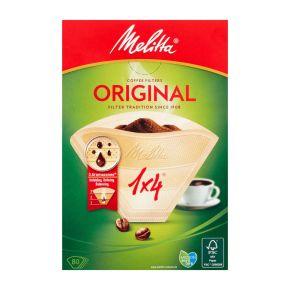 Melitta Koffiefilters 1x4/80 Natuurbruin product photo