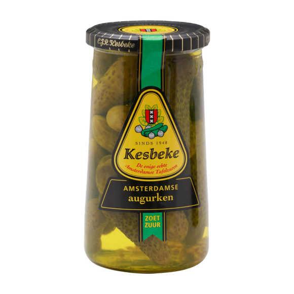 Kesbeke Amsterdamse augurken zoetzuur product photo
