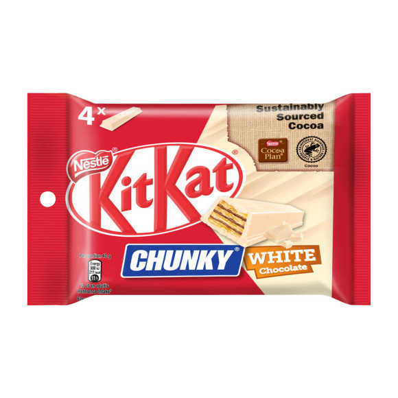 KitKat Chunky white 4-pack product photo