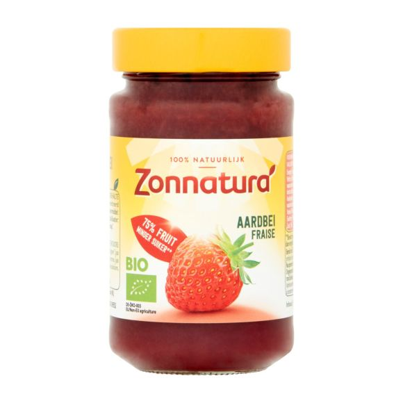 Zonnatura Aardbeienjam biologisch product photo