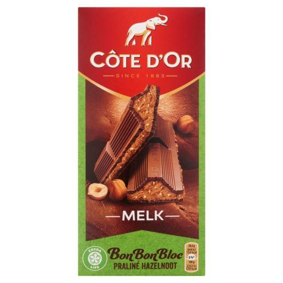 Côte d'Or BonBonBloc praliné hazelnoot product photo