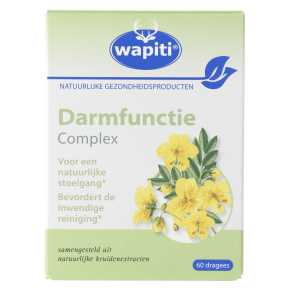 .Wapiti Darmfunctie complex 60st. product photo