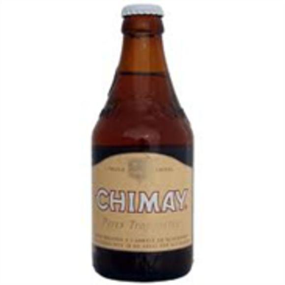 Chimay Tripel wit bier blik product photo