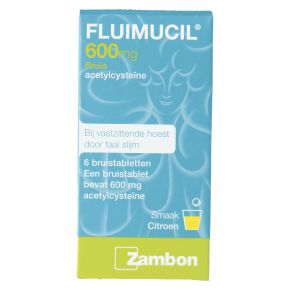 Fluimucil Bruistablet 600 mg product photo