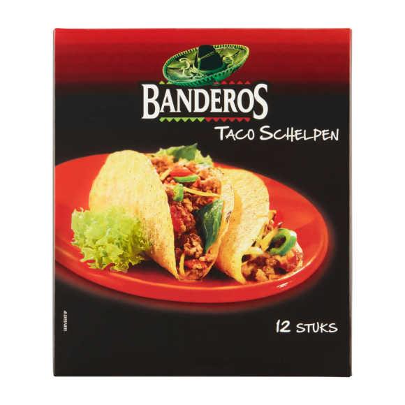Banderos Taco schelpen product photo