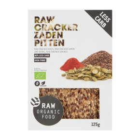 Raw Organic Food Cracker zaden pitten biologisch product photo