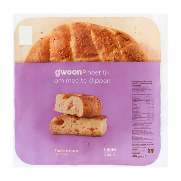 g'woon Turks brood product photo