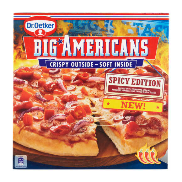 Dr. Oetker Big American spicy edition product photo