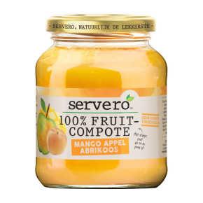 Servero Fruit compote mango/appel/aardbei product photo
