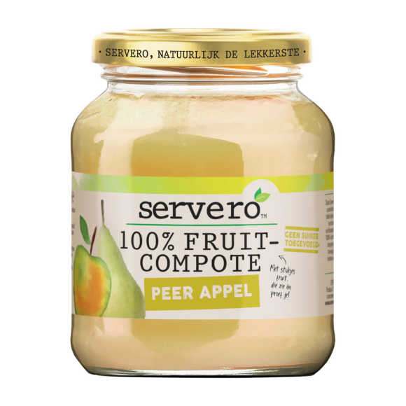 Servero Fruit compote peer/appel product photo