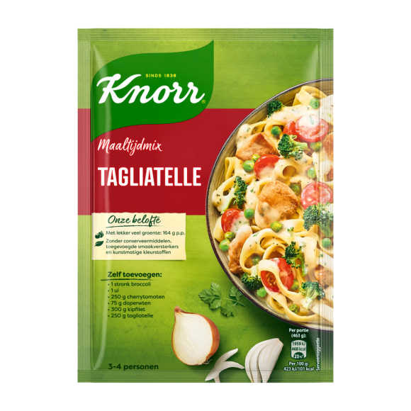 Knorr mix voor tagliatelle product photo