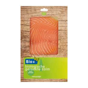 Bio + Gerookte zalm biologisch product photo