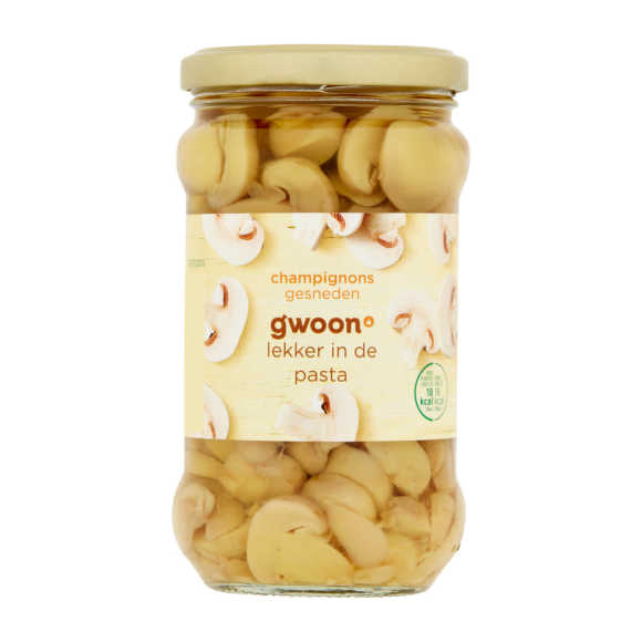 g'woon Champignons gesneden product photo