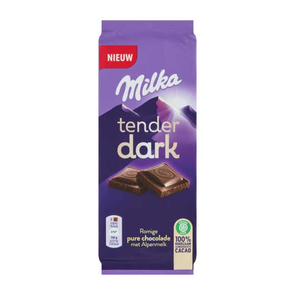 Milka Tender dark alpenmelk product photo