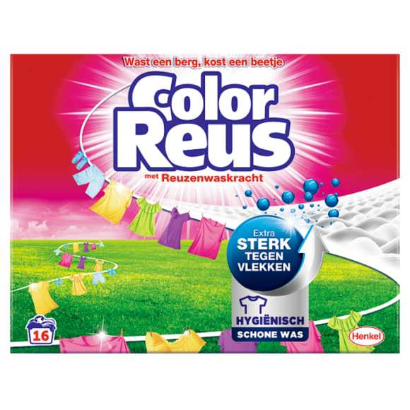Witte Reus Wasmiddel poeder color reus product photo