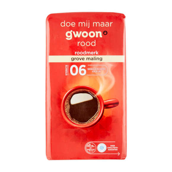 g'woon Snelfilter grove maling product photo