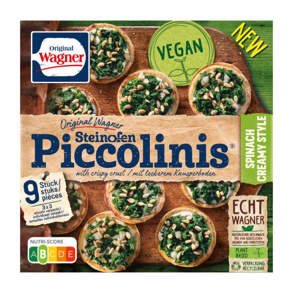 Wagner Piccolinis spinach product photo