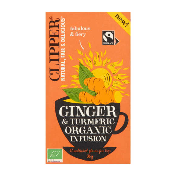 Clipper Ginger tumeric product photo