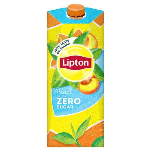Lipton Ice tea peach zero product photo