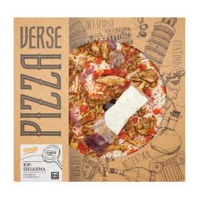 Verse pizza kipshoarma product photo