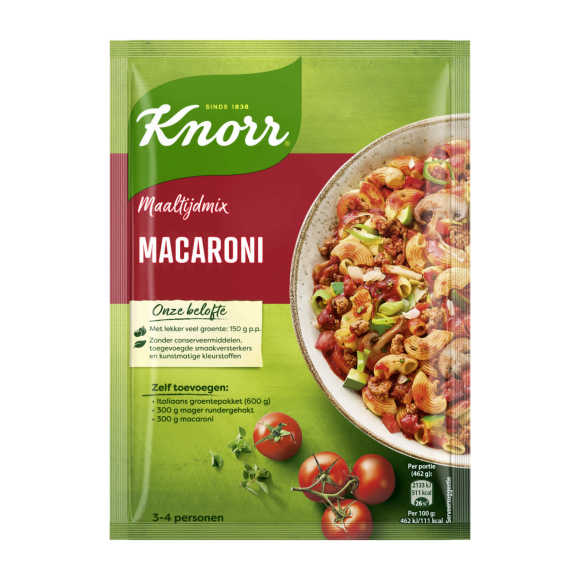 Knorr Mix voor macaroni product photo