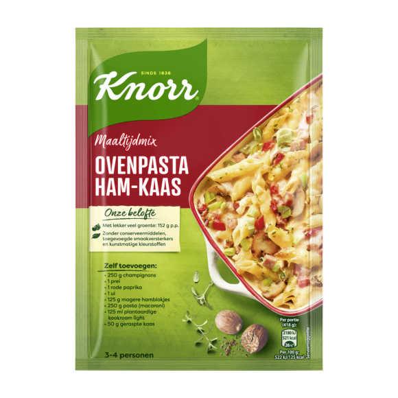 Knorr Mix ovenpasta ham kaas product photo