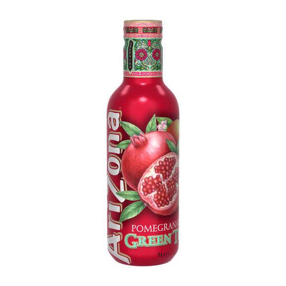 Arizona Green tea pomegranate product photo
