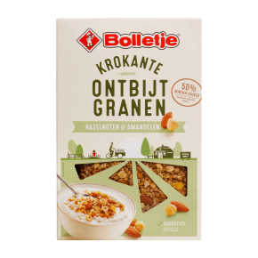 Bolletje Krokante ontbijtgranen Hazelnoot & amandel product photo