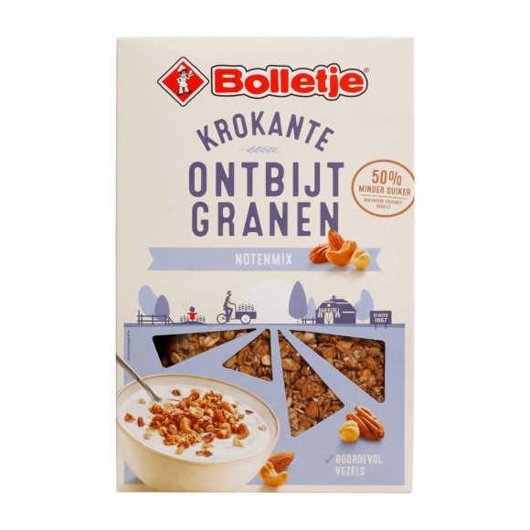 Bolletje Krokante ontbijtgranen gemengde noten product photo