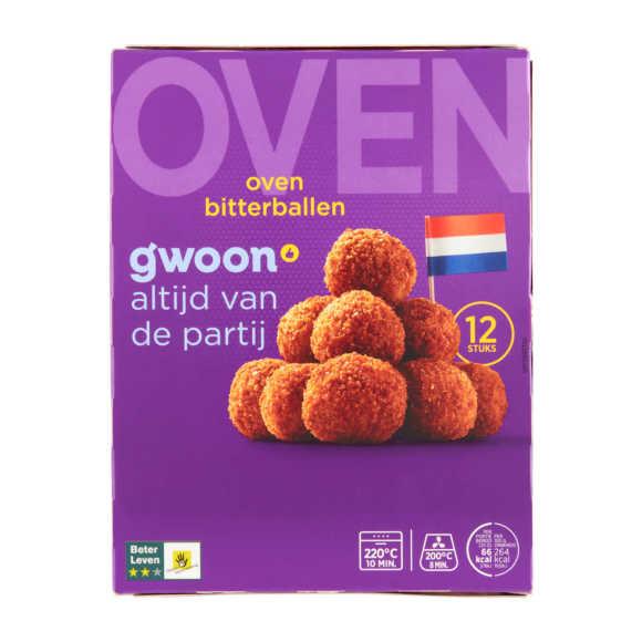 g'woon Oven bitterballen product photo