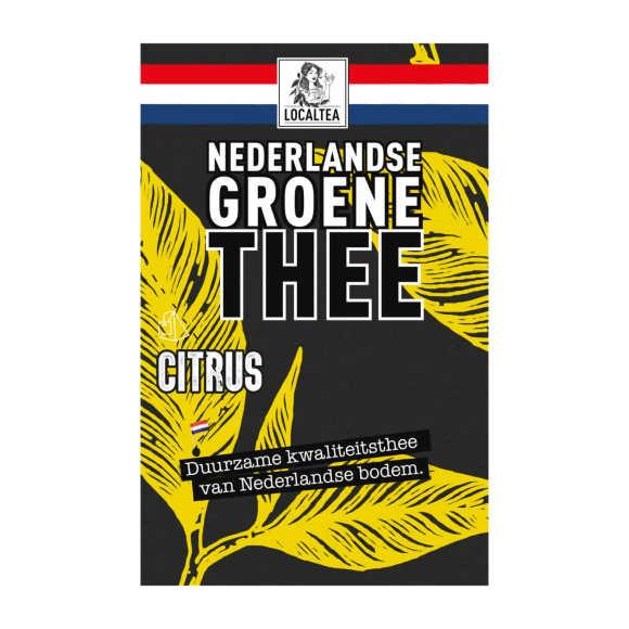 Localtea Nederlandse Groene Thee Citrus 10 x 1,8 g product photo